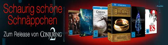 Conjuring 2 - Zum Release gibt es Schaurig Schnäppchen bei Amazon