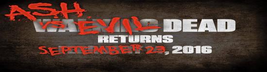 NEWS: Ash Vs. Evil Dead - Season 2 ab September