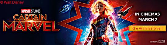 Gewinnspiel: Captain Marvel