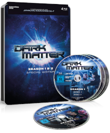 BD Kritik: Dark Matter - Staffel 1+2 - Steel Edition