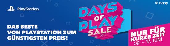 Days of Play - 11 Tage voller Angebote im Juni