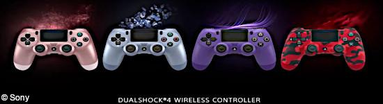 Sony - Neue Dualshock 4-Modelle vorgestellt