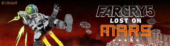 PS4 Kritik: Far Cry 5 - Lost on Mars