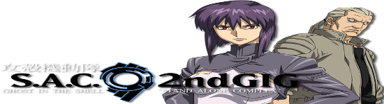 Ghost in the Shell: Stand Alone Complex - Vol 2