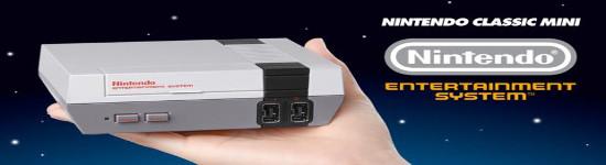 Nintendo Mini NES - Nachlieferungen für Weihnachten & Anfang 2017 geplant