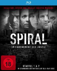 Spiral – Die kompletten Staffeln 1+2