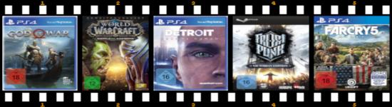 Special: Die besten Spiele des Jahres 2018