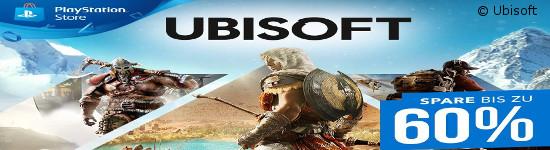 Ubisoft - Spare bis zu 60% im PlayStation Store